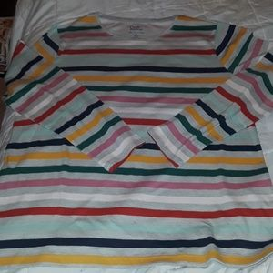 Croft & Barrow top XL NWOT